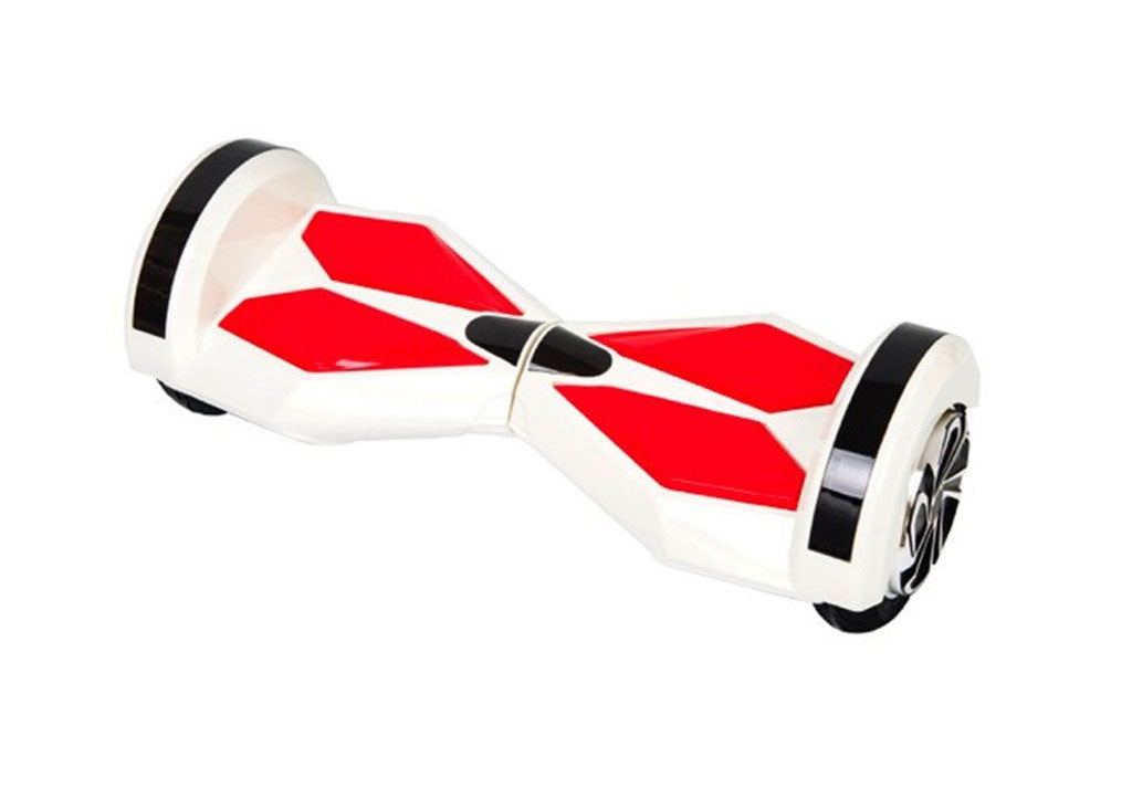 "Red & White 8"" Swegway Hoverboard (Bluetooth)"
