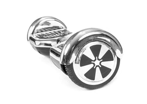 "Silver 6"" Chrome Swegway Hoverboard (Bluetooth)"