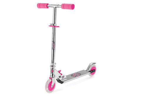 Two Wheel Kids Scooter with LED Lights (Pink)