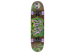 "Tentacle Print Xootz Kids Double Kick Skateboard (31"")"