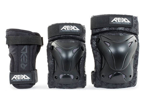 REKD Triple Pad Set (Knee, Elbow and Wrist pads)