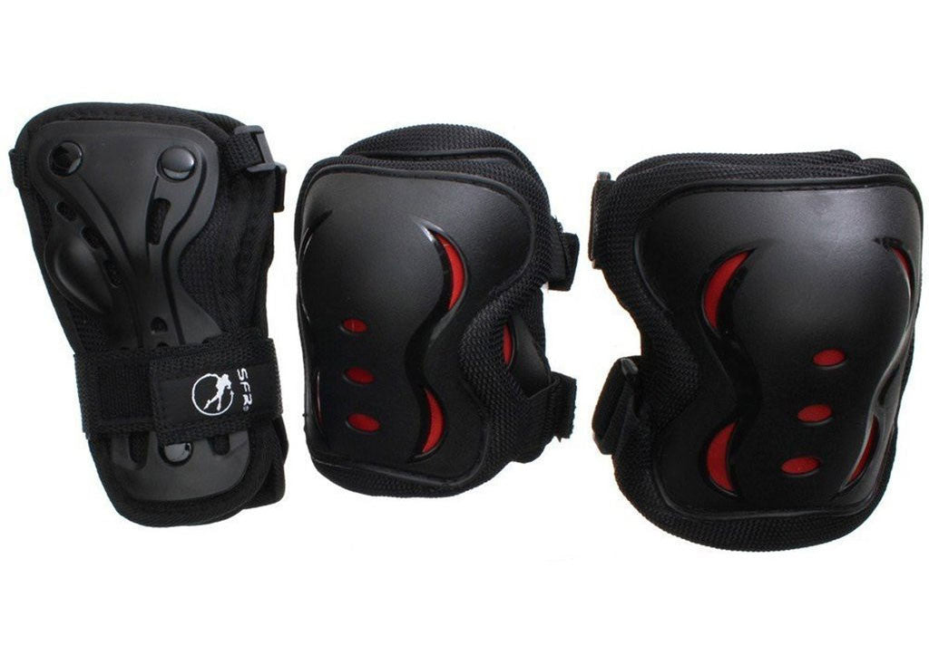 SFR Essentials Triple Pad Set (Knee, Elbow and Wrist pads)