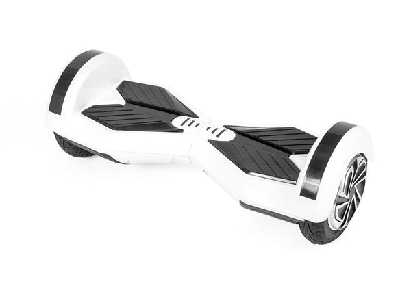 "White 8"" Swegway Hoverboard (Bluetooth)"
