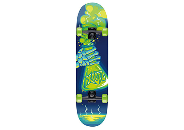 Xootz Kid's Industrial Complete Double Kick Skateboard