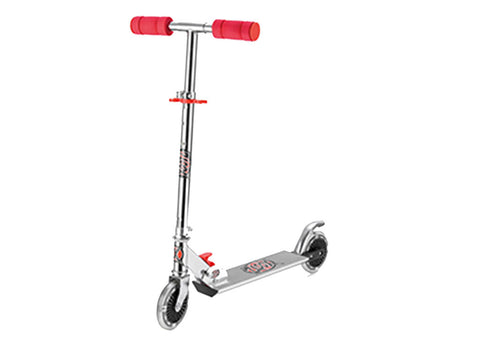 Xootz Kids Scooter Red LED
