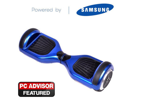 "Blue 6"" Swegway Hoverboard + FREE carry bag"