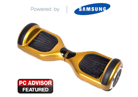 "Gold 6"" Swegway Hoverboard  + FREE carry bag"