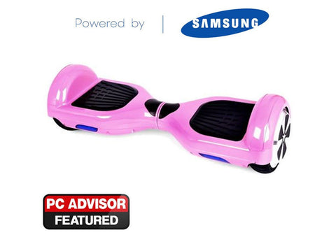"Pink 6"" Swegway Hoverboard + FREE carry bag"