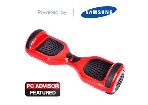 "Red 6"" Swegway Hoverboard + FREE carry bag"