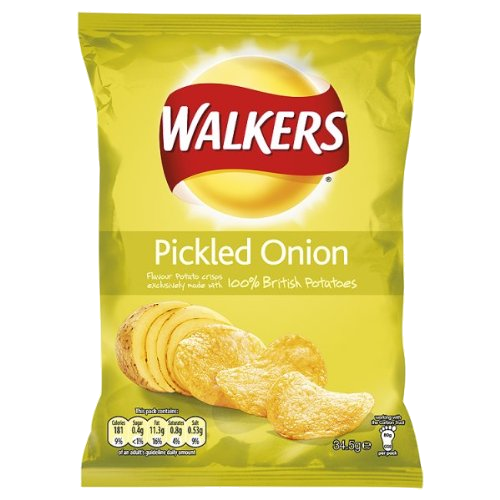 Walker's Pickled Onion Crisps