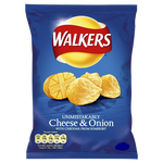 Walker's Cheese & Onion Crisps