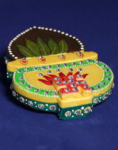 Kumkum rice holder - kalash shape