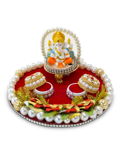 Kiya Ring Ceremony Tray