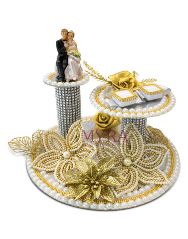 Kunj Ring Ceremony Tray