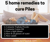 5 Daily Tips to cure Piles