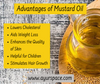 Advantages of Mustard Oil