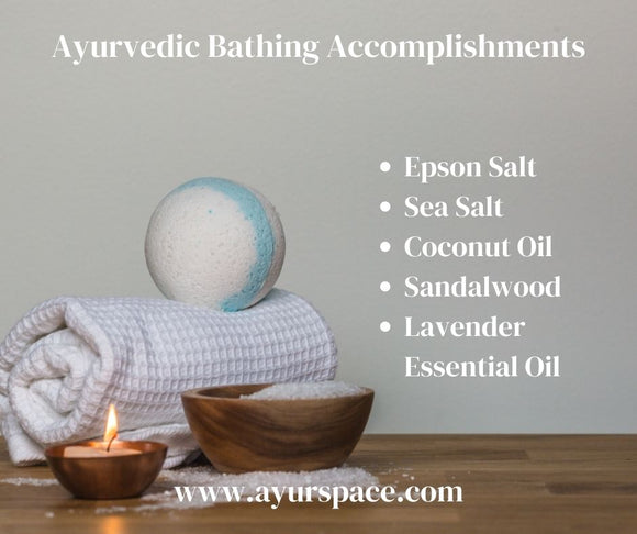 Ayurvedic Bathing Accomplishments