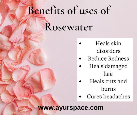 Benefits of Daily use of Rose Water