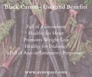 Black Carrots- Uses and Benefits