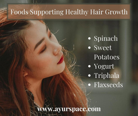 Foods Supporting Healthy Hair Growth