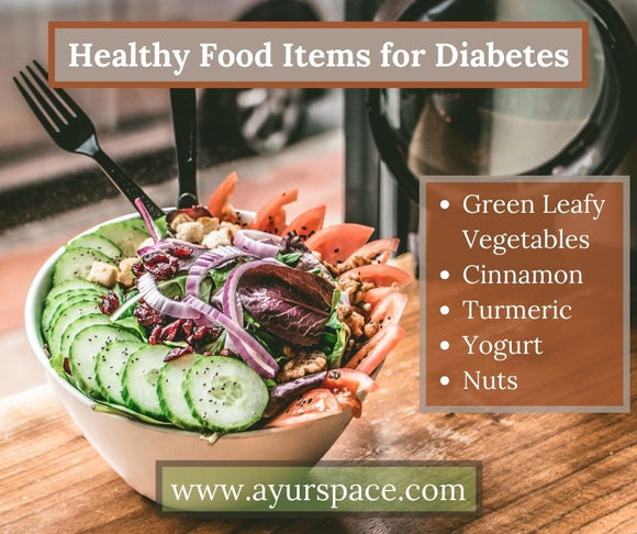 Healthy Food Items for Diabetes