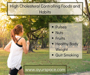 High Cholesterol Controlling Foods and Habits