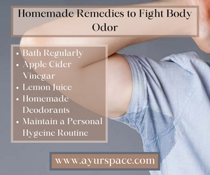 Homemade Remedies to Fight Body Odor