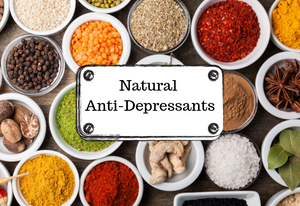 10 Natural Anti Depressants Drugs to cure Anxiety and Depression