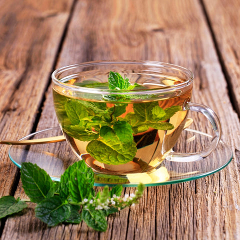 Mint tea - weight loss diet
