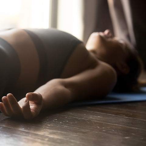 Shavasana - yoga for weight loss