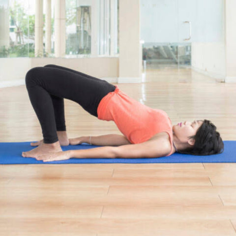 Bridge pose - yoga for weight loss