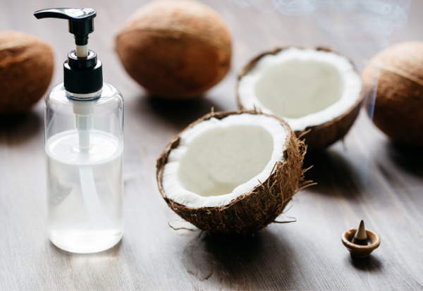 Natural coconut oil