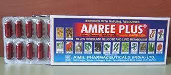 Aimil Amree Plus capsules - Ayur Space