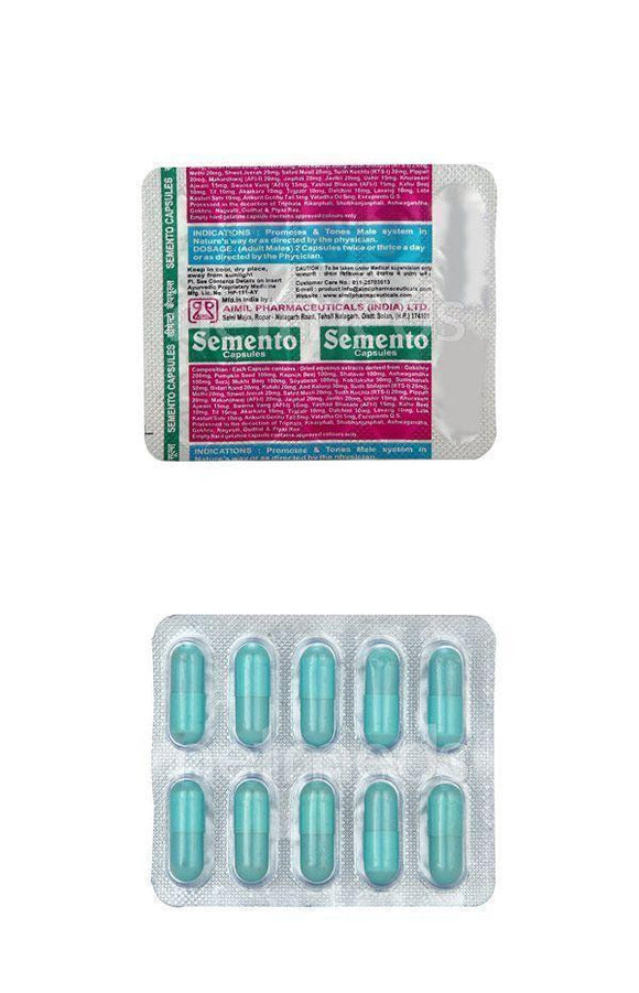 Capsules - AIMIL - Semento - Pack Of 3