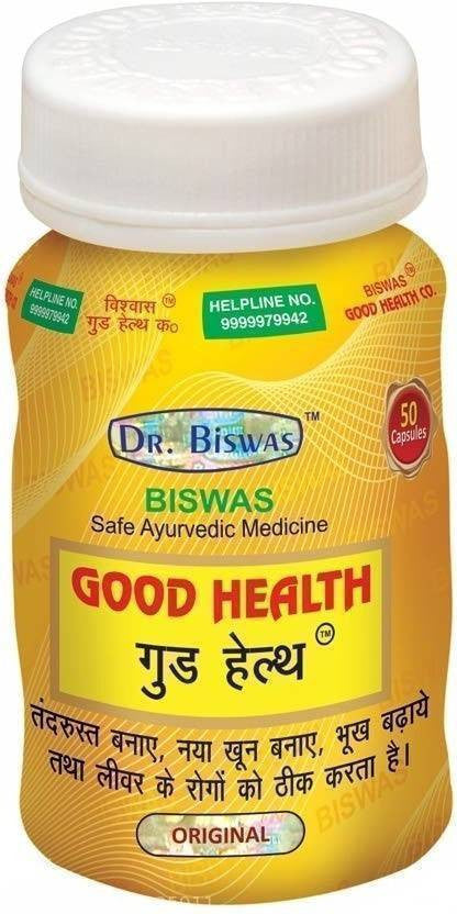 Dr. Biswas Good Health Capsule - Ayur Space