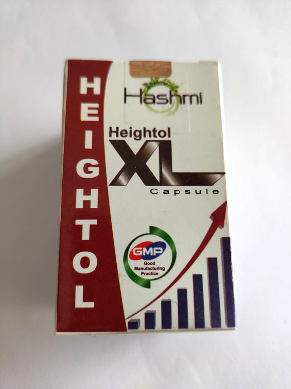 Heightole-XL Capsules - Pack of 60 - Ayur Space