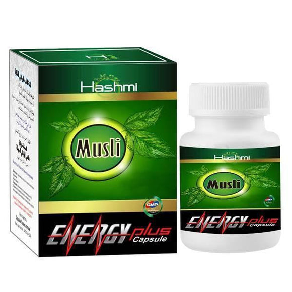 Musli Energy Plus - 60 Capsules - Ayur Space
