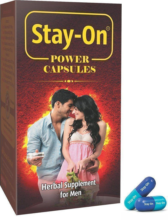 Stay On Power Capsules - 30 Caps - Ayur Space