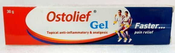 Ostolief Gel 30gm - Ayur Space