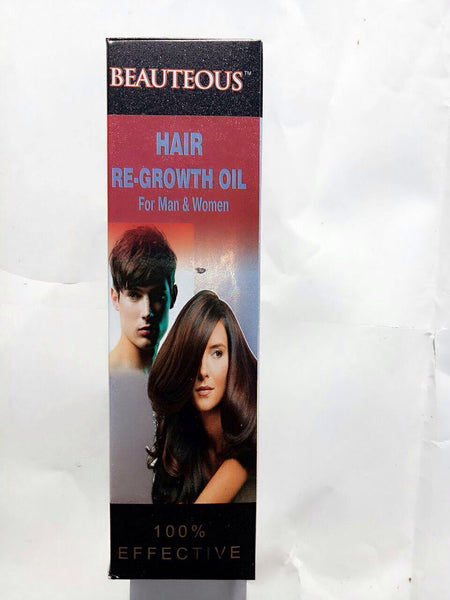 Beauteous Hair Re-Growth Oil for Men and Women - Ayur Space