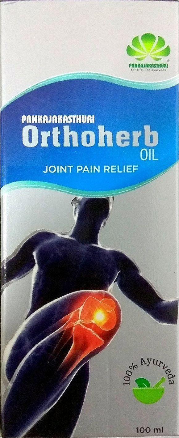 Pankajakasthuri Orthoherb Oil 100ml - Pack of 2 - Ayur Space