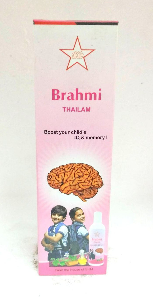SKM Brahmi Thailam 100ml - Ayur Space