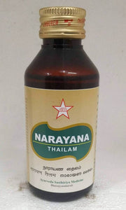 SKM Narayana Thailam 100ml - Ayur Space
