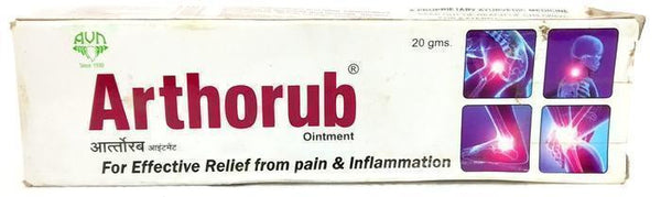 Arthorub Ointment 20gm - Ayur Space