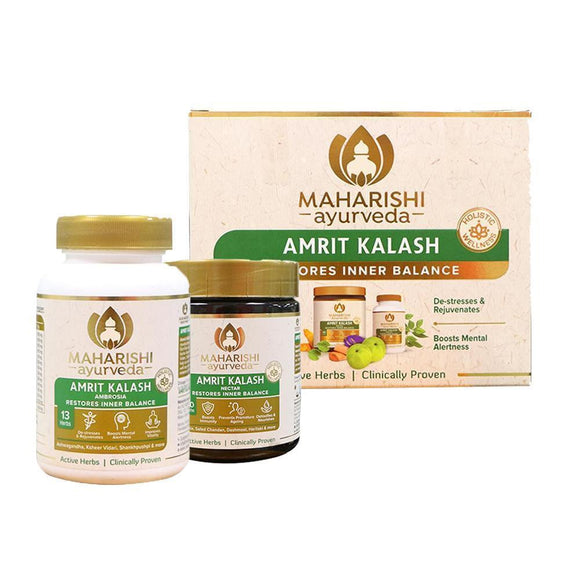Maharishi Amrit Kalash - Dual Pack (Paste and Tablets) - Ayur Space
