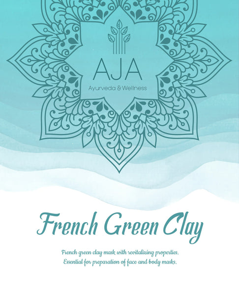 Powder - AJA French Green Clay - 250g