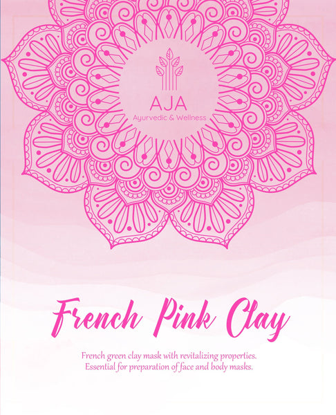 Powder - AJA French Pink Clay -250g
