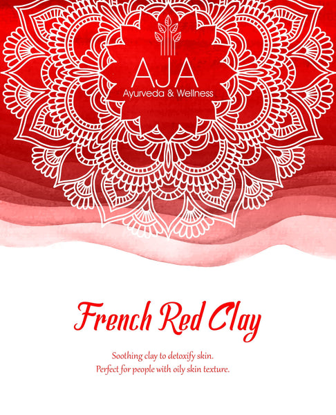 Powder - AJA French Red Clay -250g