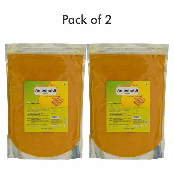 Ambehaldi Powder - 1 kg powder - Pack of 2 - Ayur Space