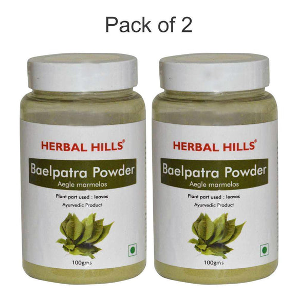 Bael Patra Powder- 100 gms - Pack of 2 - Ayur Space